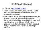 elektronick katalog