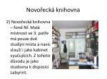 novo eck knihovna