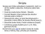 skripta