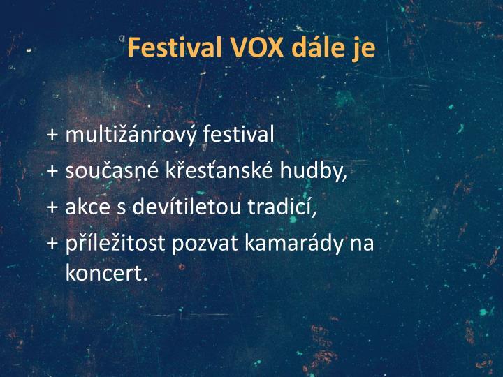 Festival vox d le je