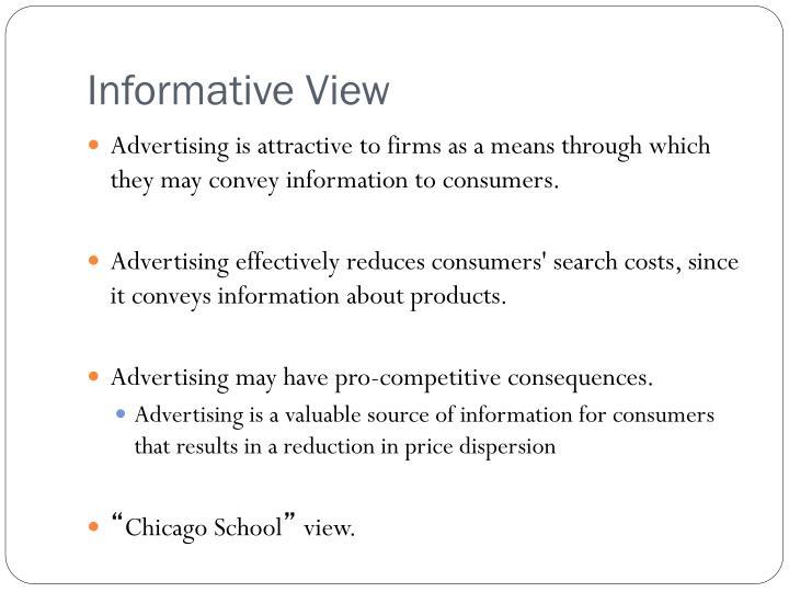 Informative View