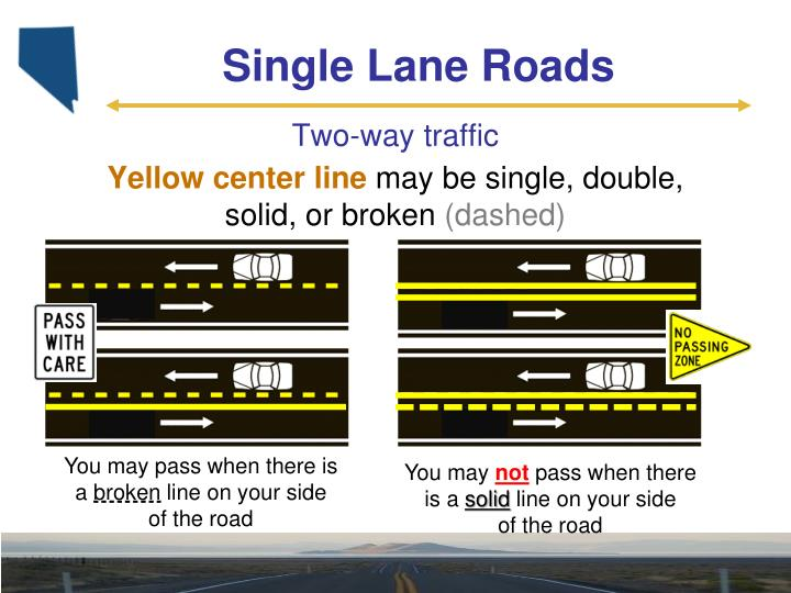 Single Lane Roads