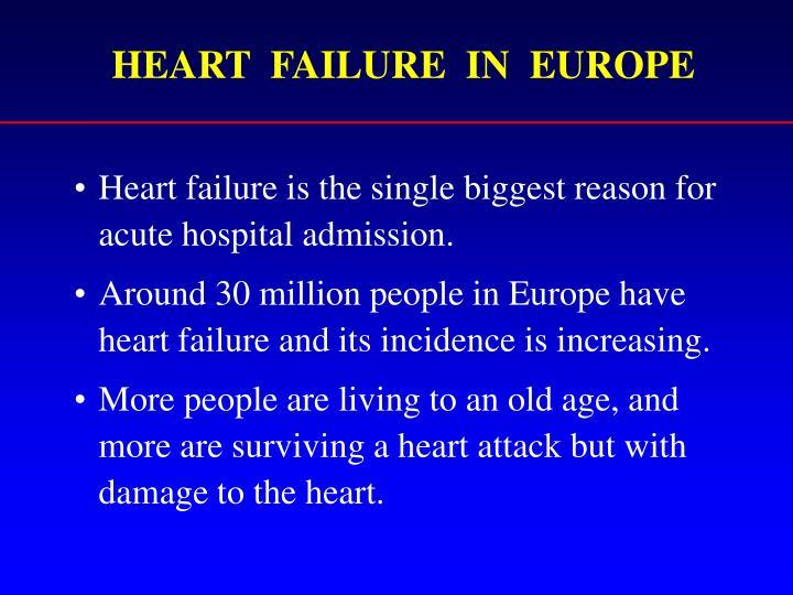 HEART  FAILURE  IN  EUROPE