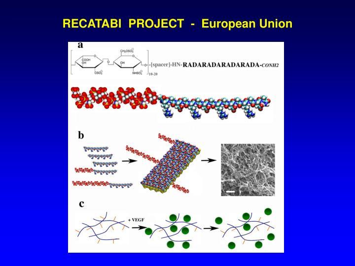 RECATABI  PROJECT  -  European Union