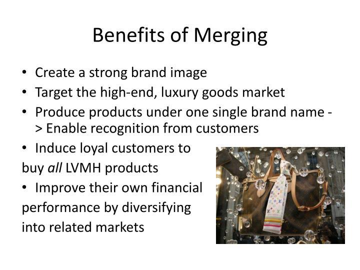 Benefits of Merging