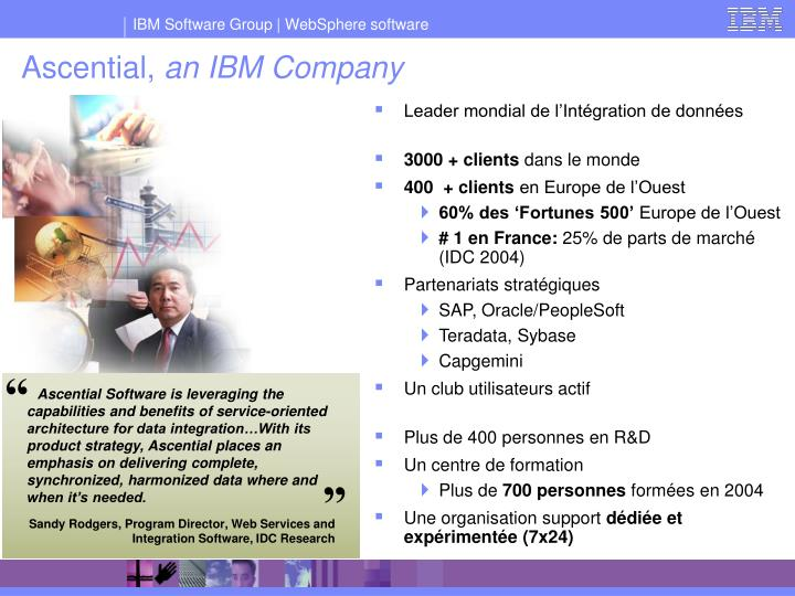 Ascential an ibm company