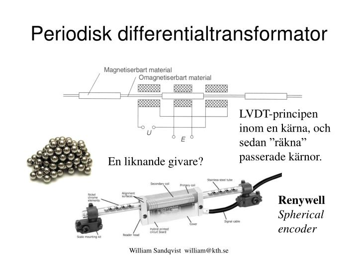 Periodisk differentialtransformator