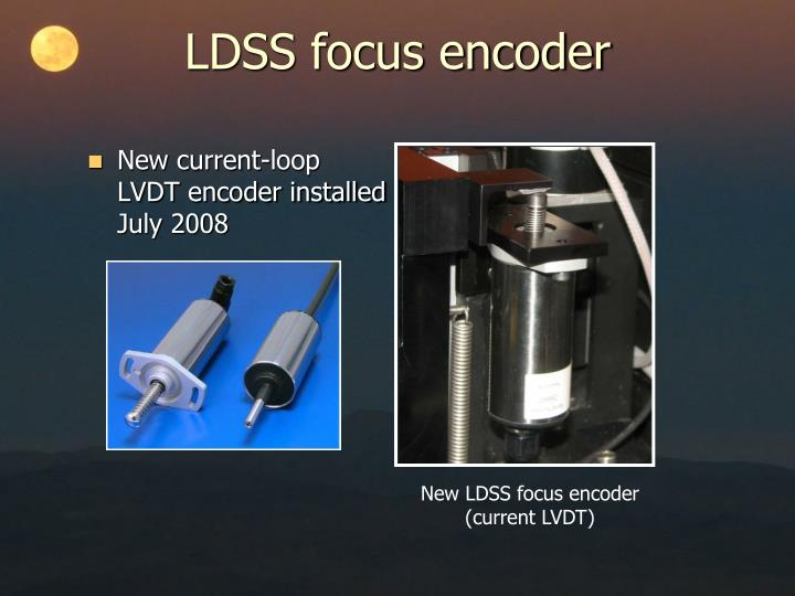 Ldss focus encoder1