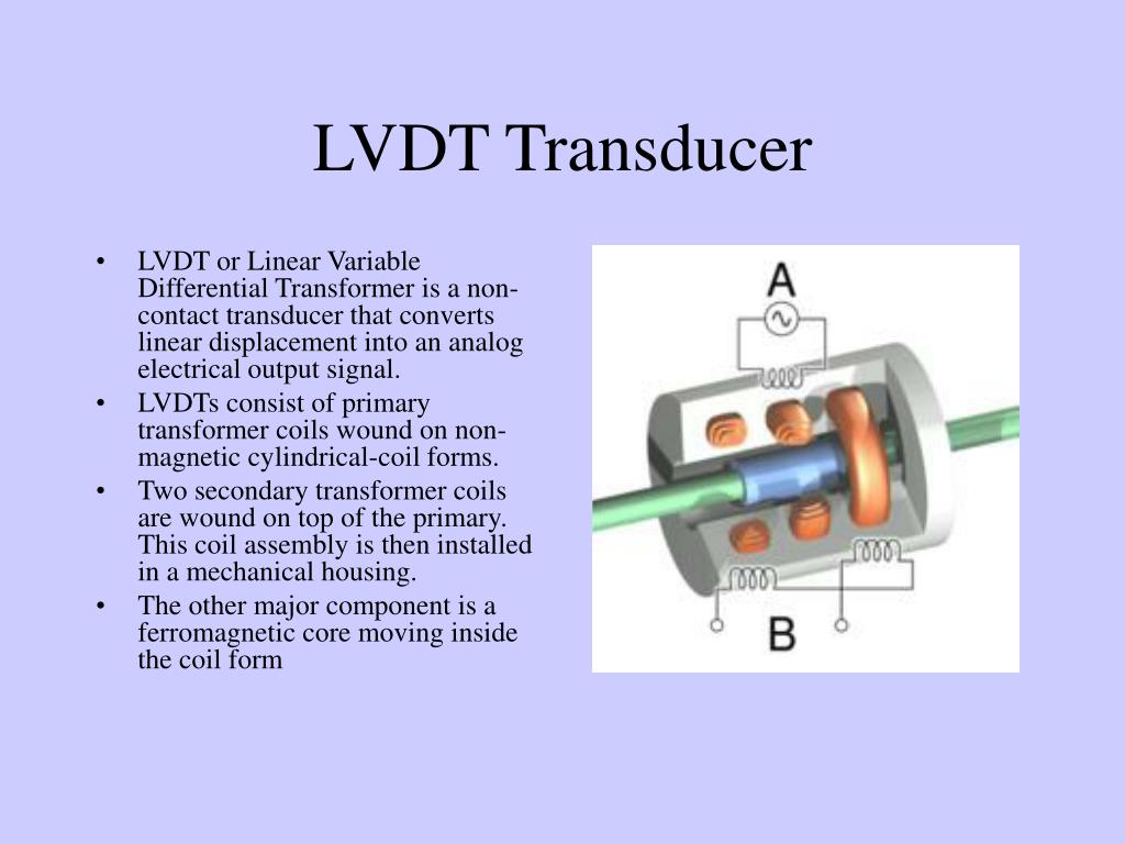 PPT - LVDT Transducer PowerPoint Presentation - ID:4232285