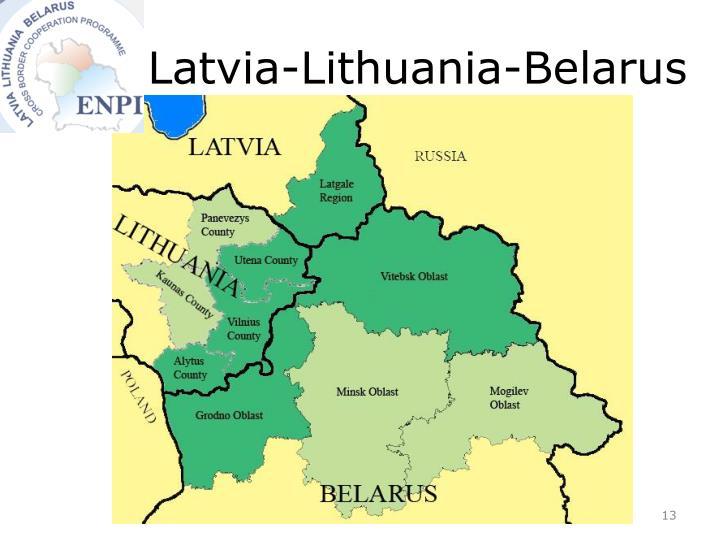 Latvia-Lithuania-Belarus