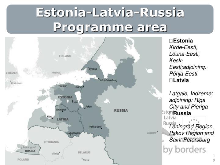 Estonia-Latvia-Russia Programme area