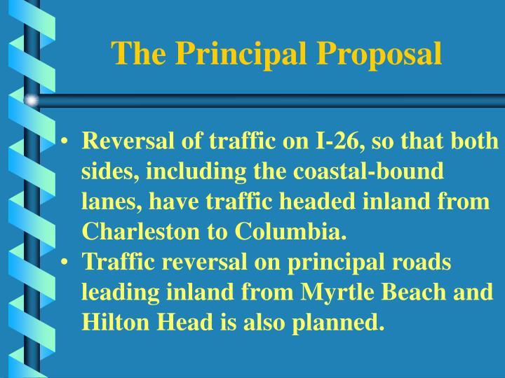 The Principal Proposal