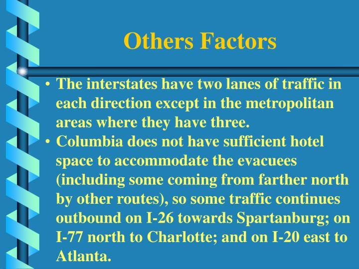 Others Factors