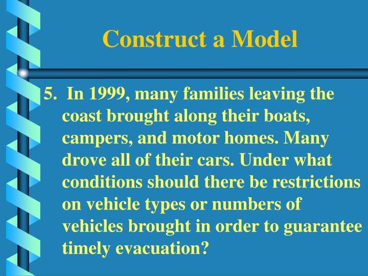 Construct a Model