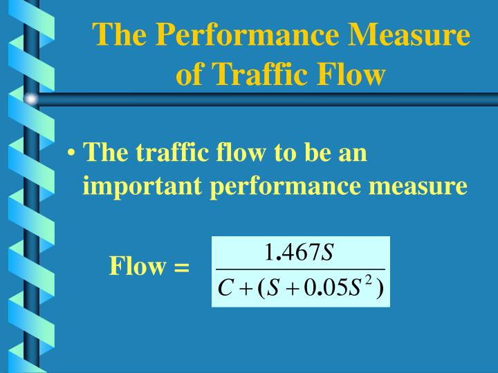 The Performance Measure