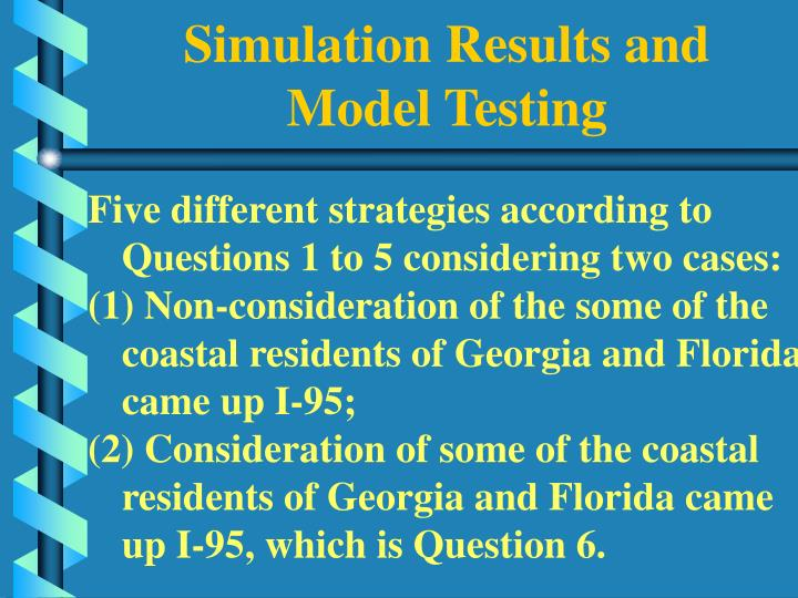 Simulation Results and