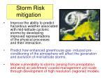 storm risk mitigation
