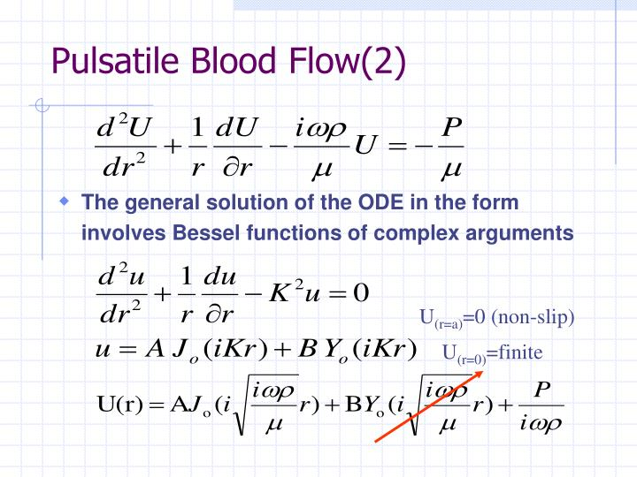 Pulsatile Blood Flow(2)