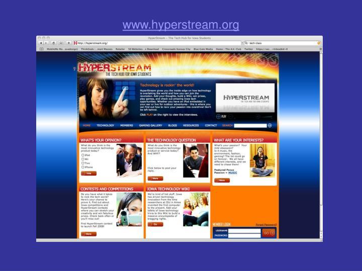 www.hyperstream.org