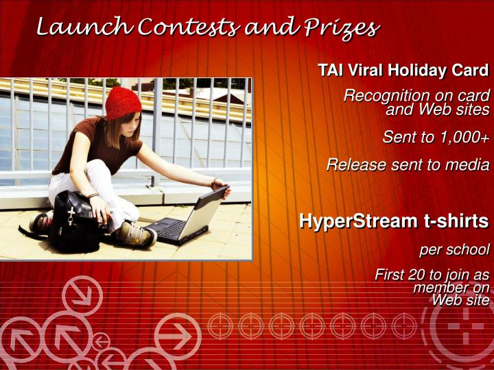 Launch Contests and Prizes