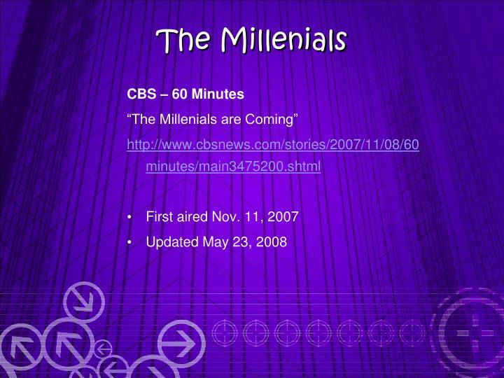 CBS – 60 Minutes