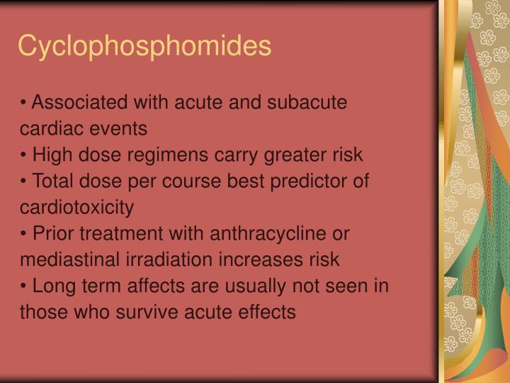 Cyclophosphomides