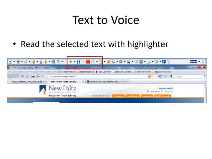 Text to Voice