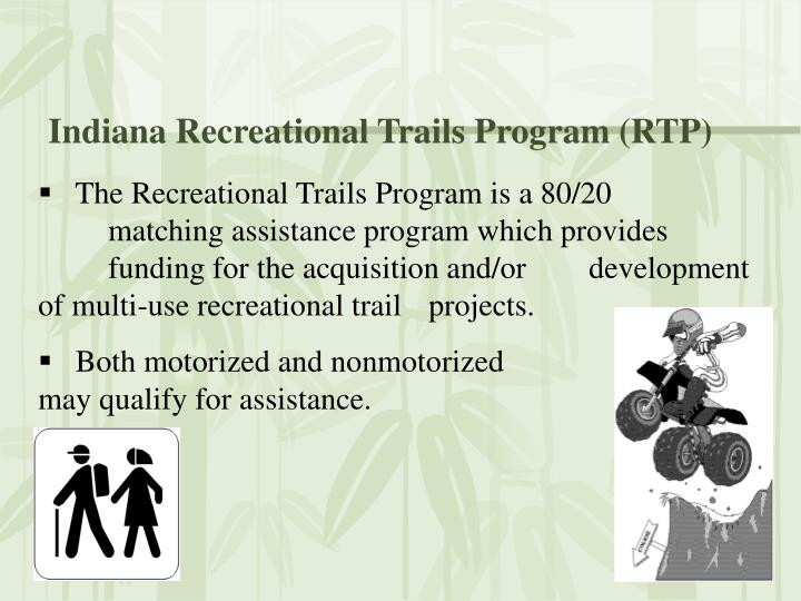 Indiana Recreational Trails Program (RTP)