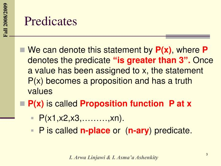 Predicates1