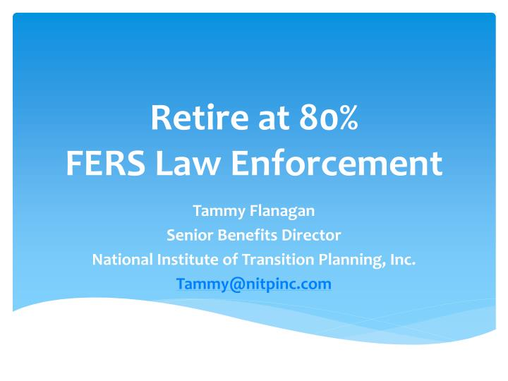 Retire at 80%