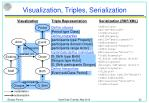 visualization triples serialization