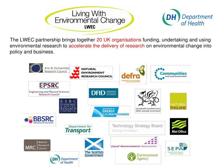 The LWEC partnership brings together