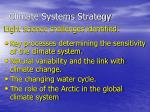 climate systems strategy1