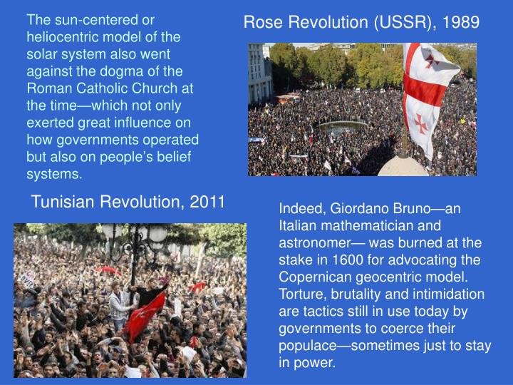 Rose Revolution (USSR), 1989
