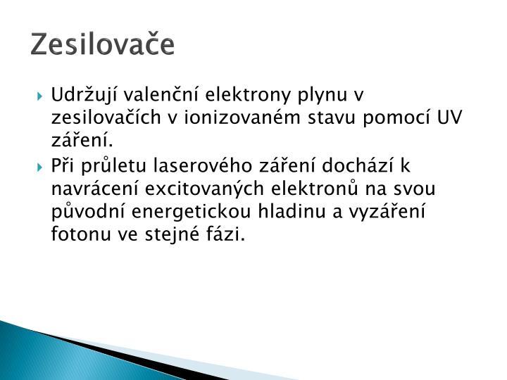Zesilovače