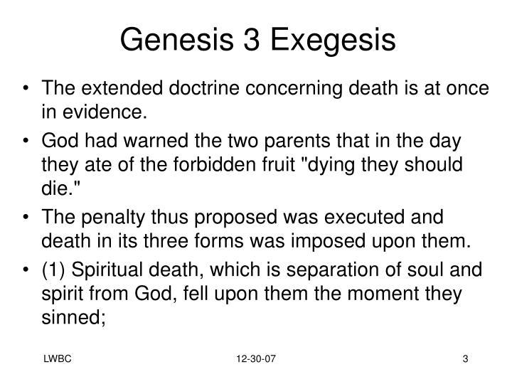 Genesis 3 exegesis1