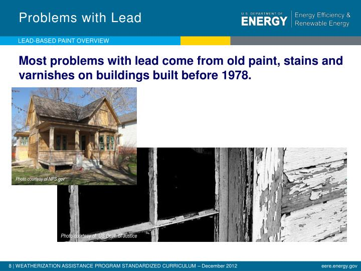 Problems with Lead