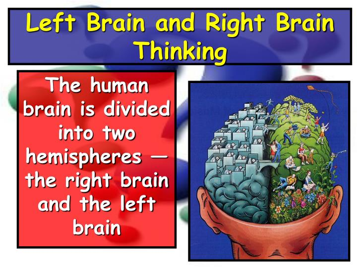 Left Brain and Right Brain Thinking