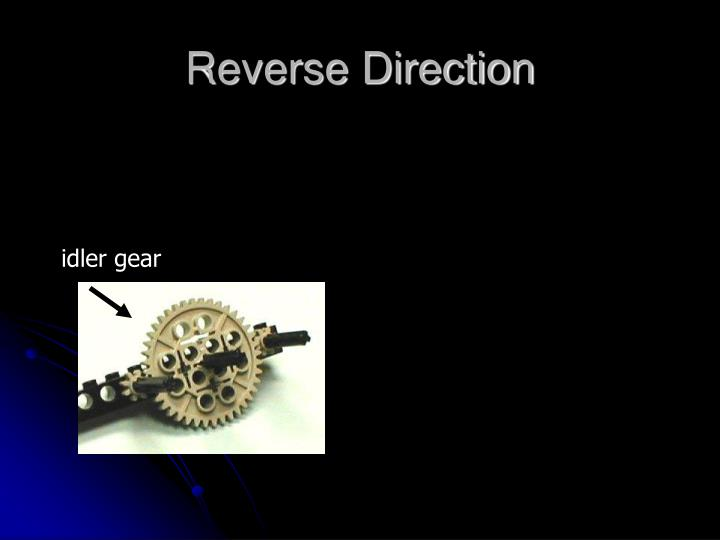 Reverse Direction