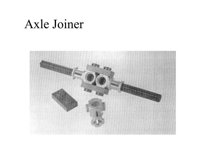 Axle Joiner