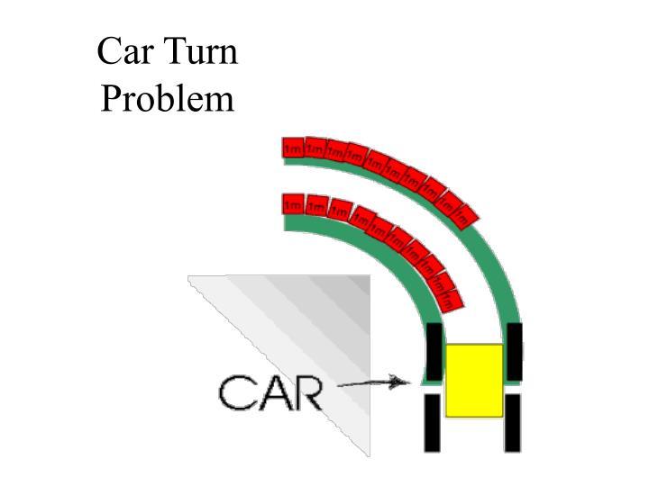 Car Turn Problem