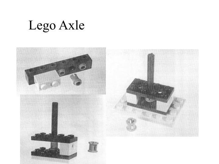Lego Axle