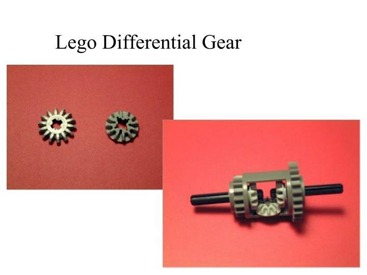 Lego Differential Gear