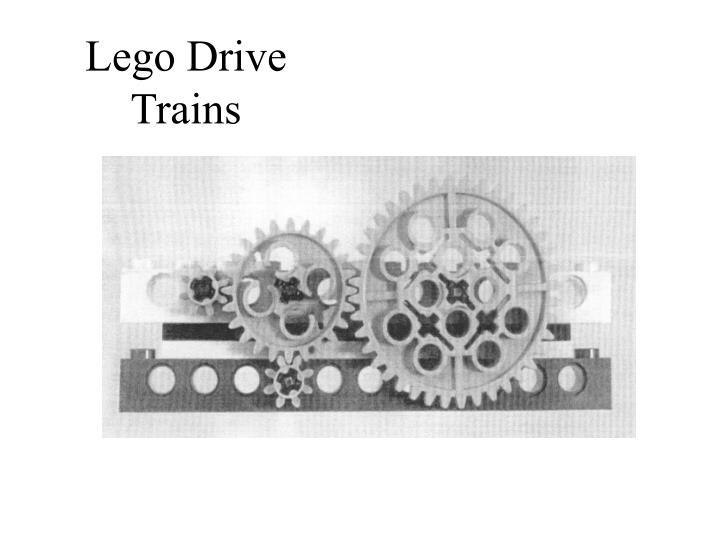 Lego Drive Trains