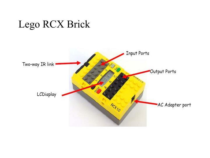 Lego RCX Brick