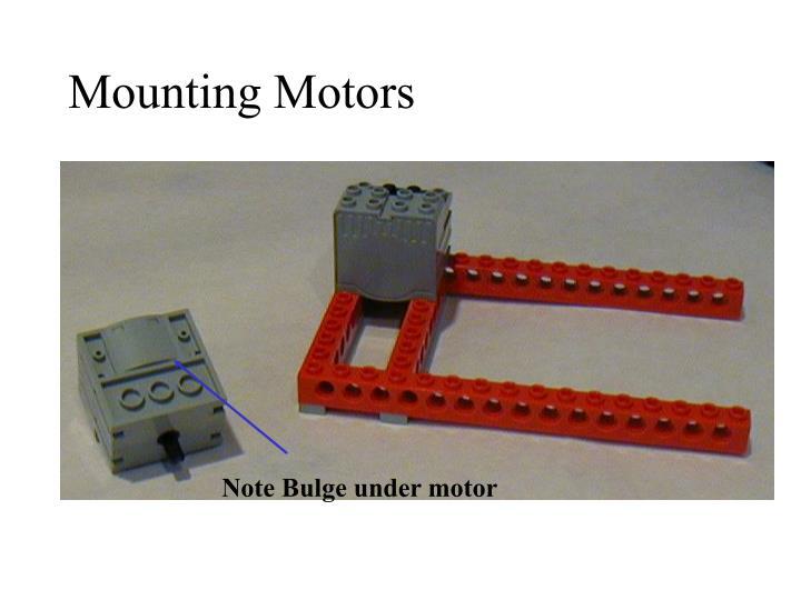 Mounting Motors
