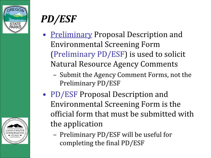 PD/ESF