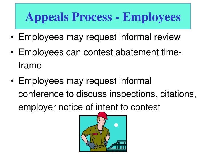 Appeals Process - Employees