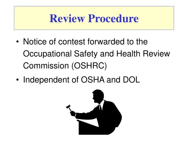 Review Procedure