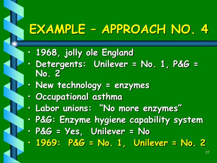 EXAMPLE – APPROACH NO. 4